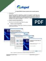 Puesta en Marcha Aspel-PROD 3.0 Para Usuarios de Versión Anterior