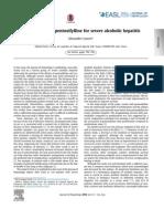 2014 Prednisolone vs. Pentoxifylline for Severe Alcoholic Hepatitis