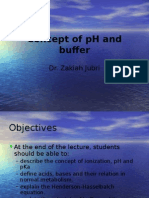 Concept of PH and Buffer