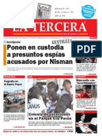 Diario La Tercera 22.01.2015