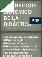 El Enfoque Sistémico de La Didáctica 20-10-Ceprobi