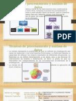 Técnicas de Procesamiento y Análisis de Datos