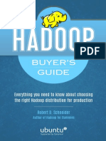 Hadoop Buyers Guide
