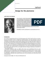 Design for the Universe