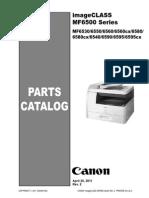 Canon ImageCLASS MF6500 Series PC Rev2 042011