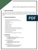 Planejamento Anual Informatica 6 Ano - 2015
