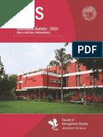 Mba (Full-time) Brochure 8-11-2013_v1