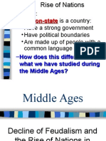 Decline of Feudalism _ Rise of Nation States PPT