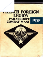 French Foreign Legion Paratrooper Combat Manual Military Manual