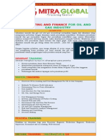 Accounting and Finance for Oil and Gas Industry