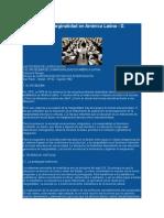 Educación y Marginalidad en América Latina
