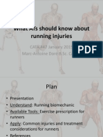 Running Considerations for Athletic Therapists2015