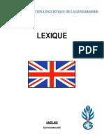1 Lexique Français-Anglais