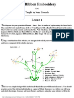 Silk Ribbon Embroidery - lesson - lesson1.pdf