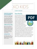 Parent Newsletter | Friendship