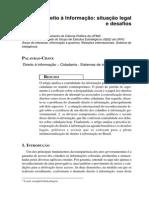 CEPIK - 2000 - Direito a Informacao