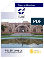 IIM Indore PGCSM03 Placement E-Brochure