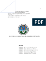 2ti Planeacion y Desarrollo Del Informe de Investigacion