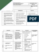 Planejamento Ensino Médio  1m 2015