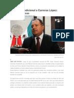 22/01/2015 Apoyo incondicional a Carreras López