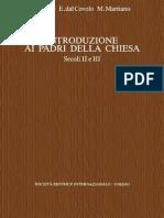 G. Bosio, E. Dal Covolo, M. Maritano-Introduzione Ai Padri Della Chiesa. Secoli II e III. Vol. 2-SEI (1998) (1)