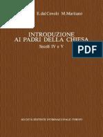 G. Bosio, E. Dal Covolo, M. Maritano-Introduzione Ai Padri Della Chiesa. Secoli IV e v. Vol. 4-SEI (1995)