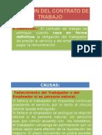 EXTINCION DEL CONTRATO DE TRABAJO.ppt