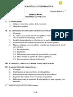 Badell_La Concesión Administrativa