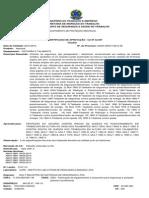 Certificadoaprovacao - Cinto e Talabarte Pqd Mg Cinto CA Nº 32.097