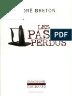 Breton La Confession Dédaigneuse, Les Pas Perdus