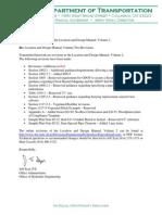 ODOT-Location and Design Manual Volume II -January 2015