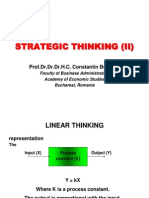BS L02 Strategic Thinking (II)