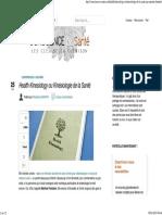 Health Kinesiology Ou Kinésiologie de La Santé
