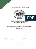 Raspad SFRJ