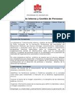 COMUNICACIÓN INTERNA Y GESTION DE PERSONAS - Carrera RRPP-KMV- 6 MARZO 2013 .doc