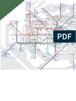 Underground tube map