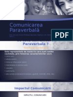 Comunicarea Paraverbală
