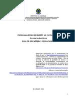 Guia PDDE 2014 Sustentavel