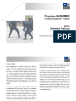 6 CURSO Defensa Personal Tecnicas de Conduccion y Esposamiento
