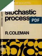 Coleman StochasticProcesses