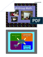 Small Group Math