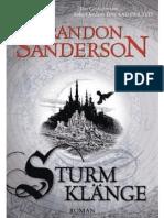 Sturmklange - Sanderson, Brandon