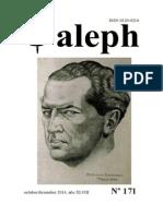 Aleph No. 171. Octubre/diciembre 2014,