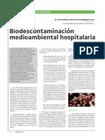 Biodescontaminación Ambiental en Hospitales