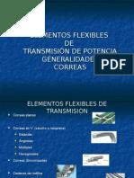 Transmisiones Elasticas - Correas - Cadenas 2013