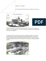 Historia Mercado Central de Guatemala