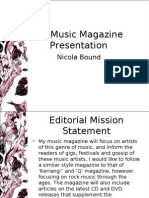 Music Magazine Presentation