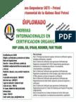 Diplomado en Normas Internacionales de Certificación Orgánica_laquinua.blogspot.com