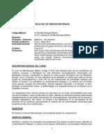 Programa Microbiologia Medica 2015-1