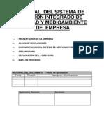 Manual de Gestión de la Calidad de Legionella